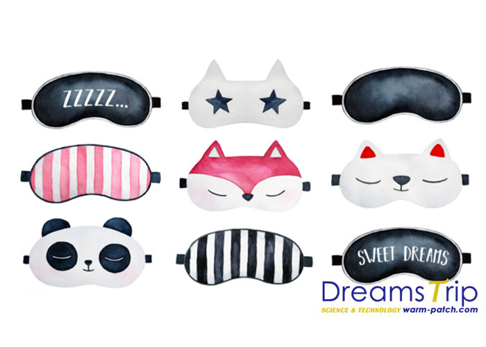OEM Animals Kitty Creative Cold Gel Eye mask Bag Heating Cooling 2 in 1 Pack Soft Panda