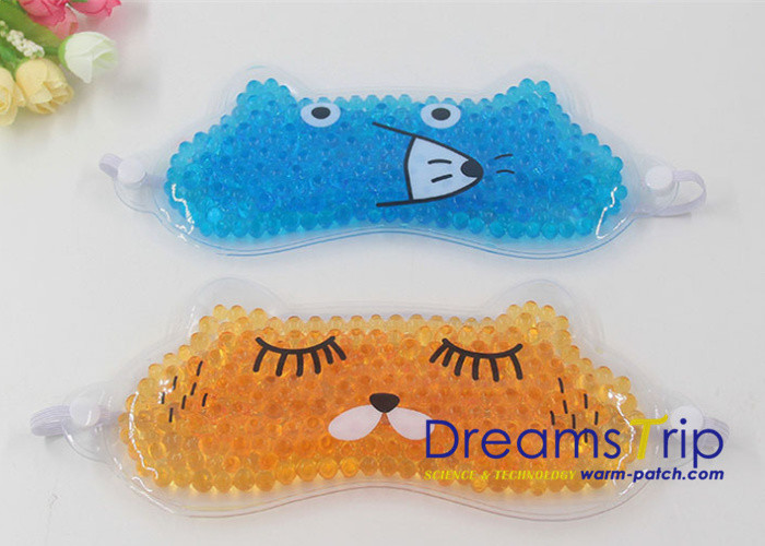 Repeat Use Cartoon Hot Cold  Eye Mask Gel Pack Cute Gift Elastic Easy Carry on Trip